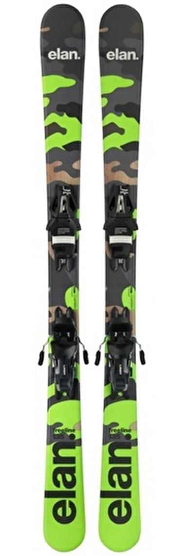Elan Freeline Camo R Gw Track Snowblade Renkli